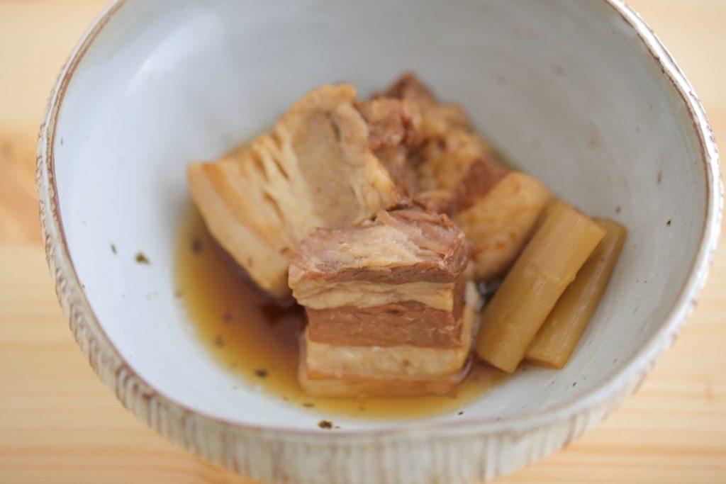 アイリスオーヤマの電気圧力鍋【KPC-MA2】レシピで作った「豚の角煮」