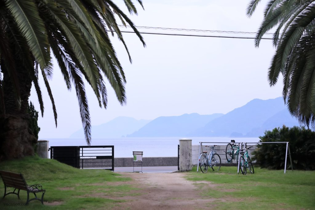 尾道向島立花食堂の外の景色