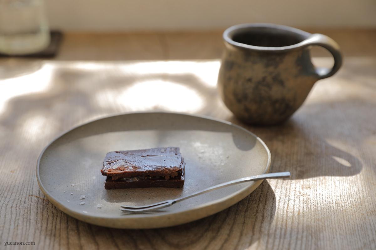 尾道向島の珈琲と季節菓子nagiテリーヌショコラ