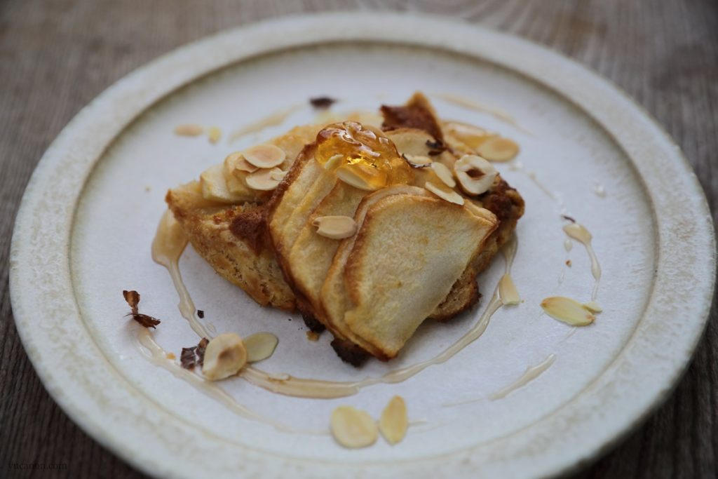 尾道向島の珈琲と季節菓子nagi高野林檎の薄焼きパイ