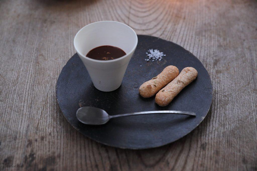 尾道向島の珈琲と季節菓子nagiビスキュイとチョコラテ