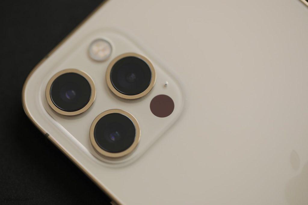 iPhone12Proカメラ部分