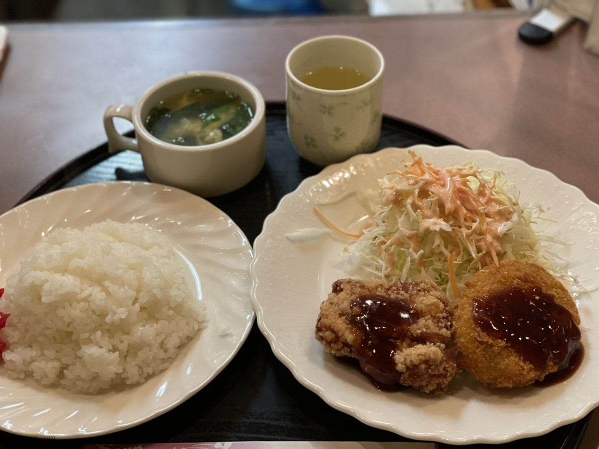 尾道「どん吉」日替わり定食