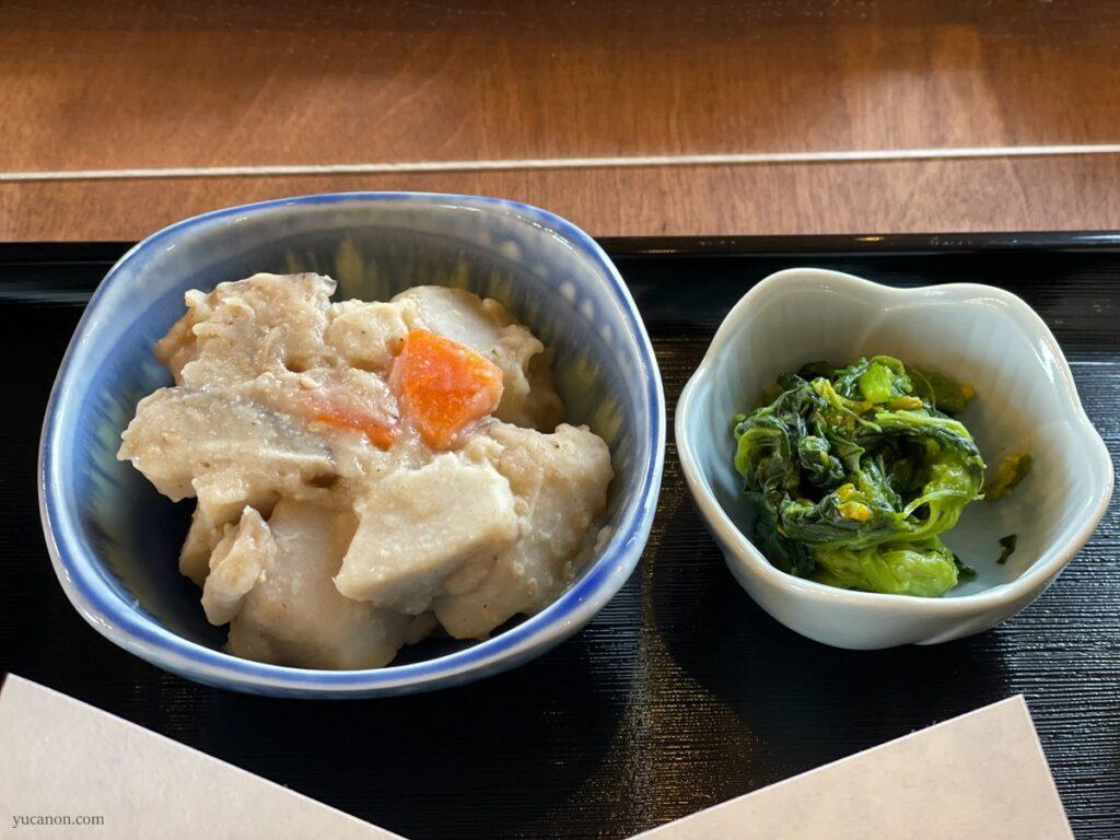 因島「六大陸」日替わり定食の副菜