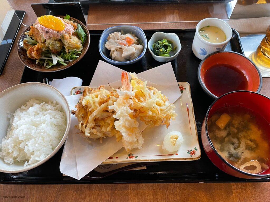因島「六大陸」日替わり定食